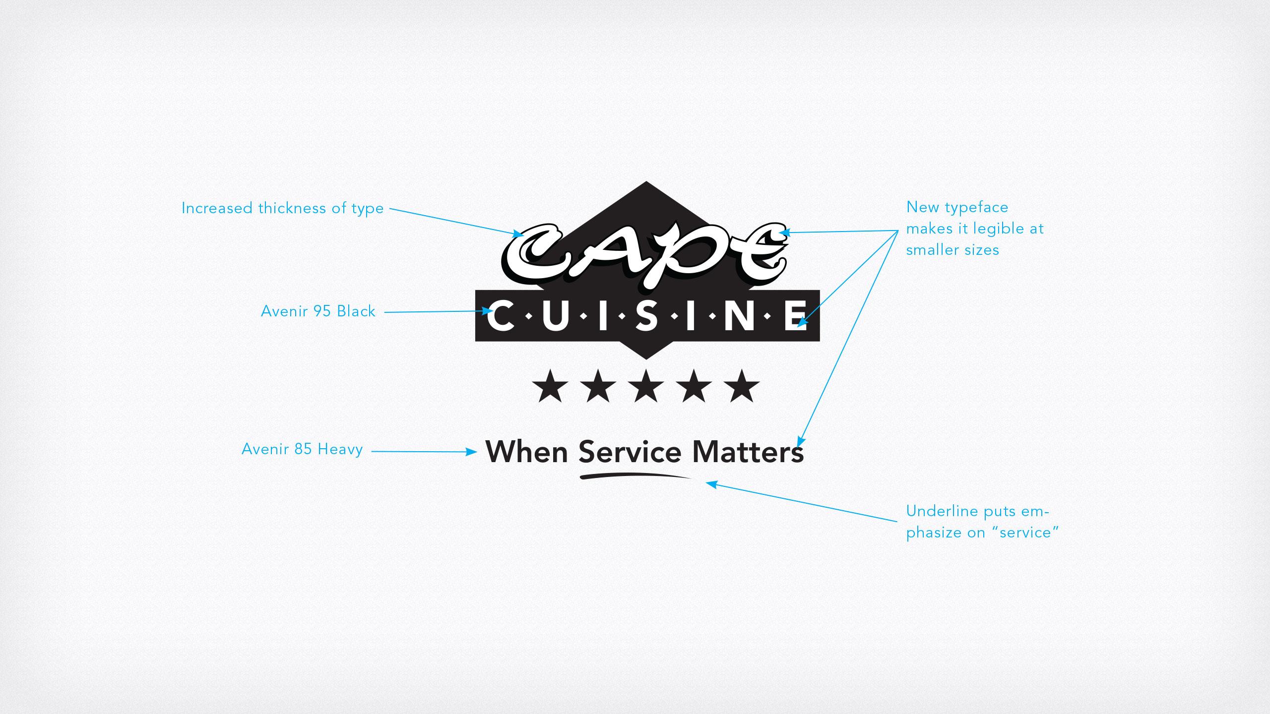 Cape Cuisine Logo Design
