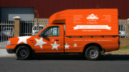 Cape Cuisine Vehicle Branding