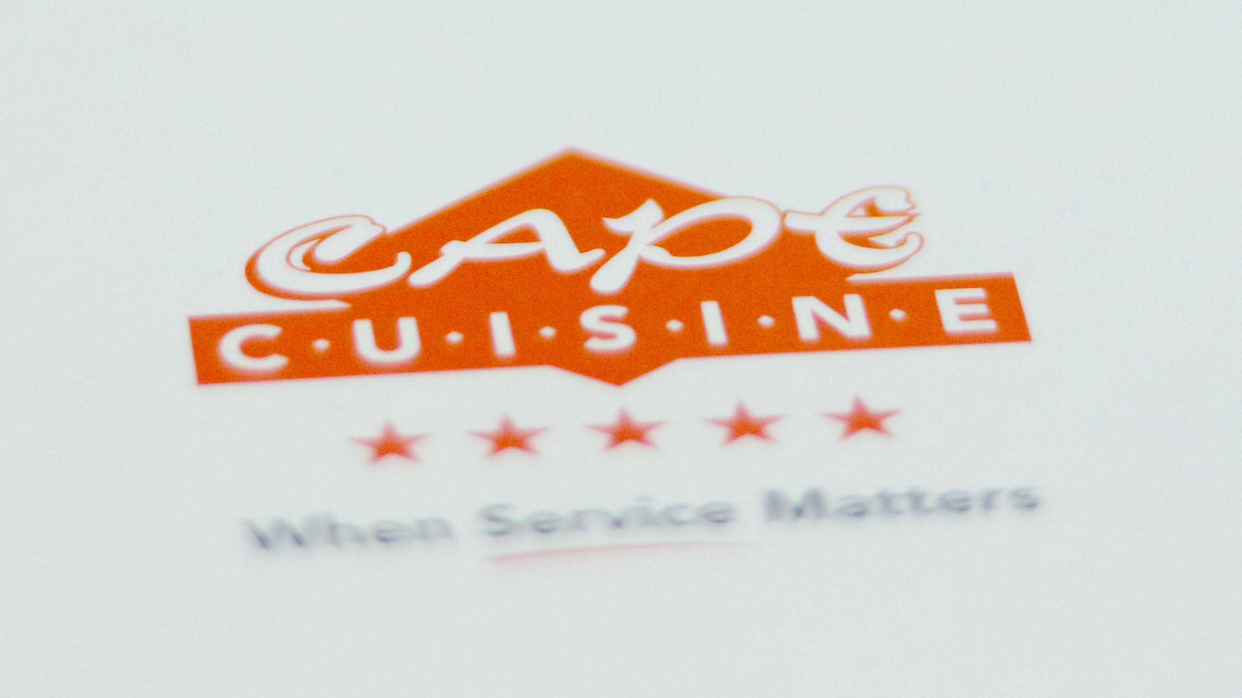 Cape Cuisine Brochure Design