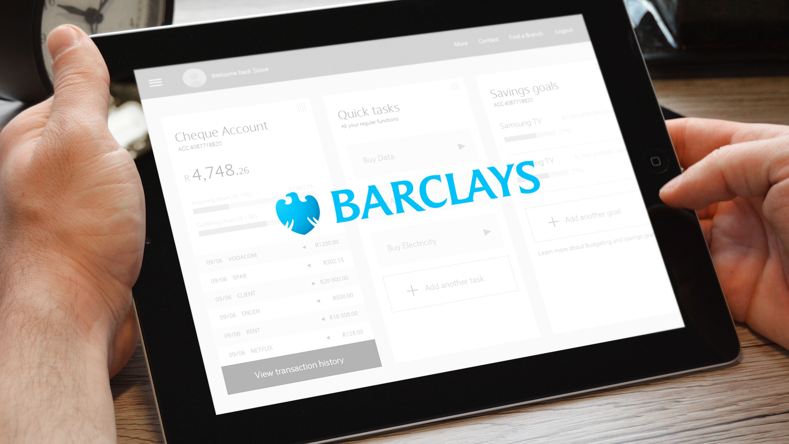 Barclays Tablet Banking Research
