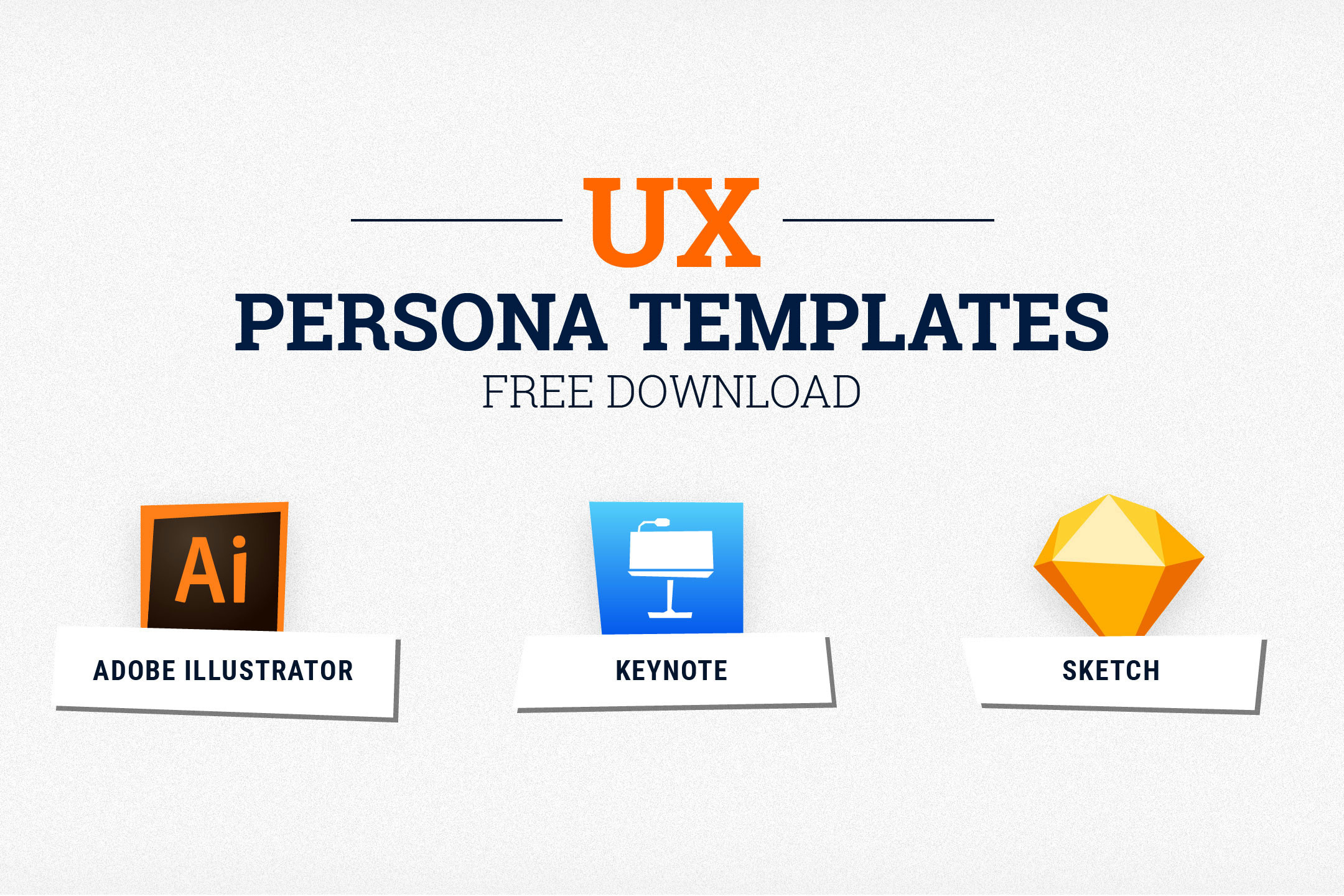 UX Persona Templates Free Download